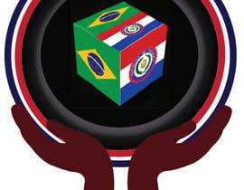 #10 untuk Brazil and Paraguay oleh designcarry