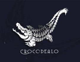#46 para Design an awesome 3d Crocodile logo por tramezzani