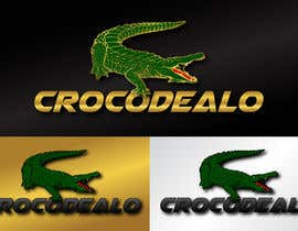 #44 para Design an awesome 3d Crocodile logo por PixelDexigner