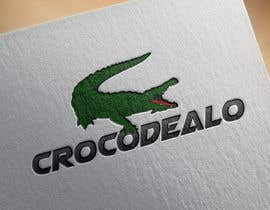 #45 para Design an awesome 3d Crocodile logo por PixelDexigner