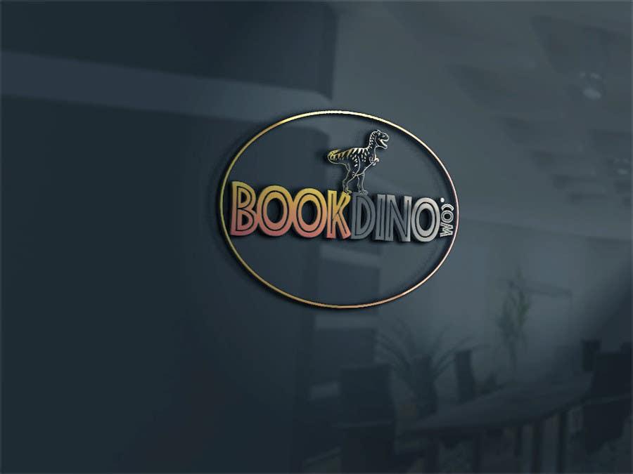 Penyertaan Peraduan #6 untuk Design a Logo for BOOKDINO.com