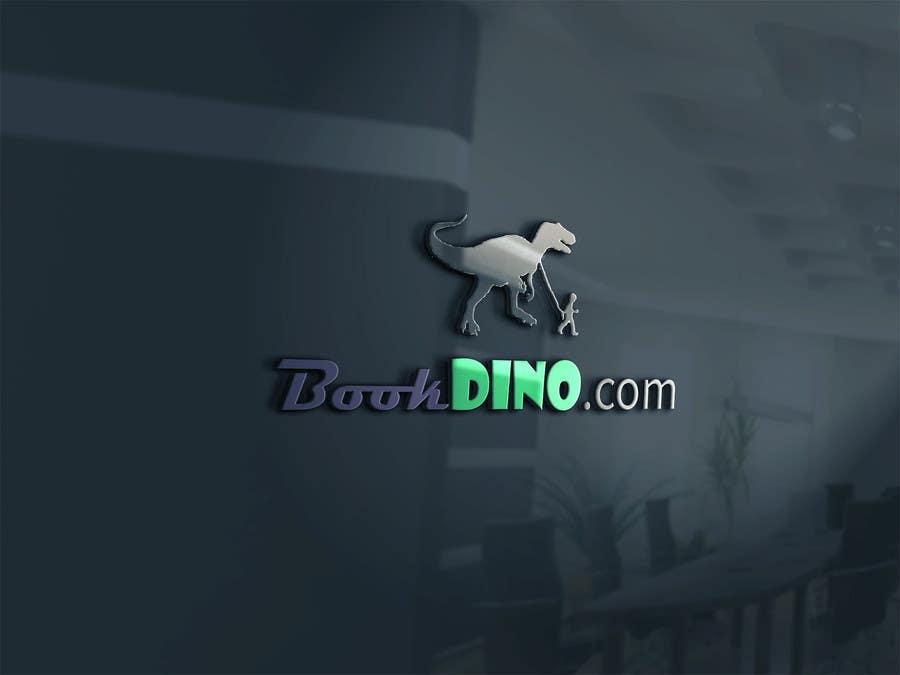 Penyertaan Peraduan #4 untuk Design a Logo for BOOKDINO.com