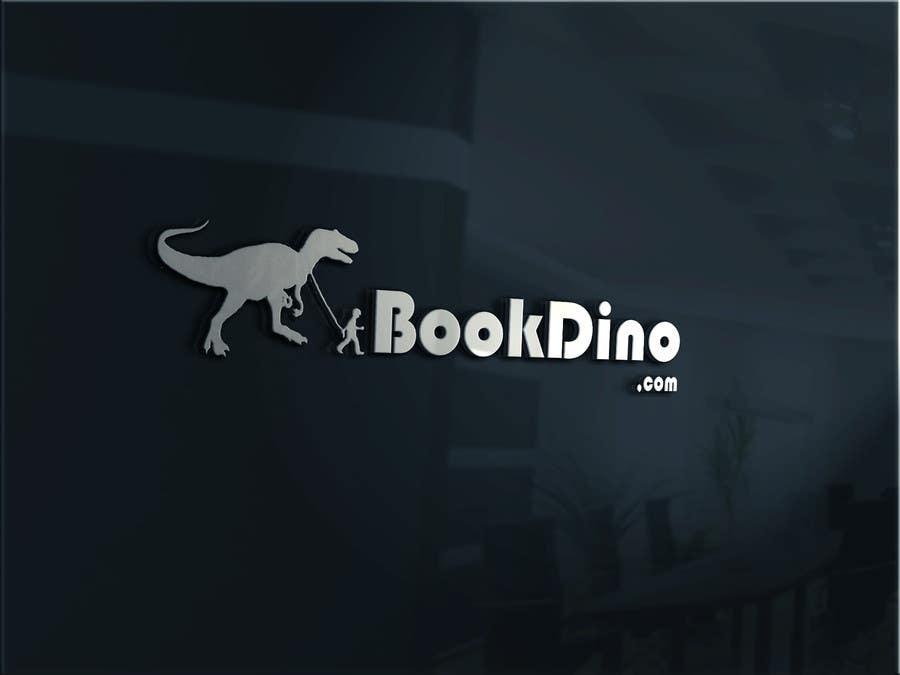 Penyertaan Peraduan #41 untuk Design a Logo for BOOKDINO.com