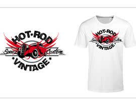 nº 10 pour Design a T-Shirt for hot rod enthusiasts par passionstyle