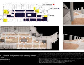 #24 for mall food court ( Furniture arrangement, Floor Planning) by Abraham3darch