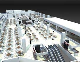#14 untuk mall food court ( Furniture arrangement, Floor Planning) oleh dennisDW