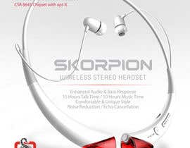 #21 untuk Create Print and Packaging Designs for Skorpion Bluetooth Headset oleh avtoringUK