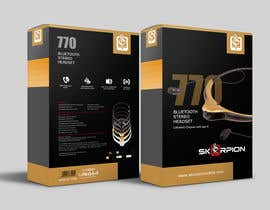 #18 untuk Create Print and Packaging Designs for Skorpion Bluetooth Headset oleh primadanny