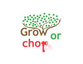 "zqxyad tarafından Design a Logo for ""Grow Or Chop"" with Grow and Chop buttons. için no 56"