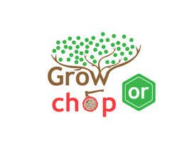 "zqxyad tarafından Design a Logo for ""Grow Or Chop"" with Grow and Chop buttons. için no 67"