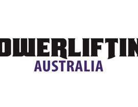#23 untuk Design a Logo for Powerlifting Australia oleh binoysnk