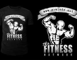 #14 untuk Design a T-Shirt for A Bodybuilding community website oleh stevesartorio13