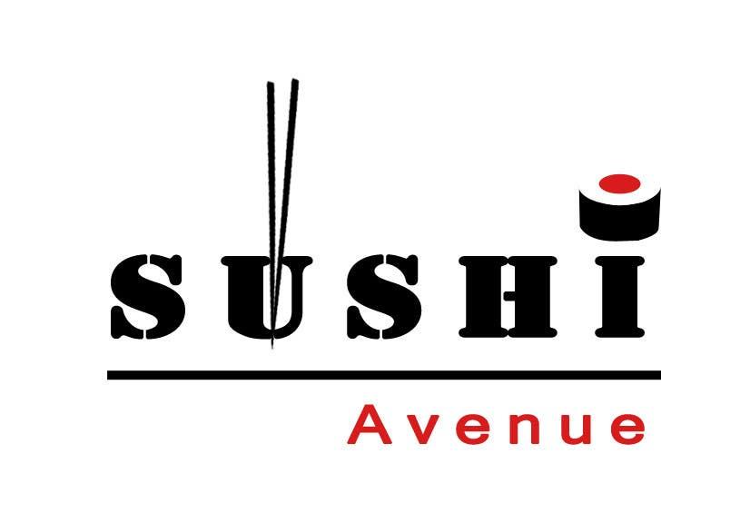 Penyertaan Peraduan #20 untuk Design a Logo for SUSHI AVENUE