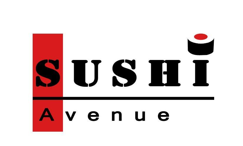 Penyertaan Peraduan #21 untuk Design a Logo for SUSHI AVENUE