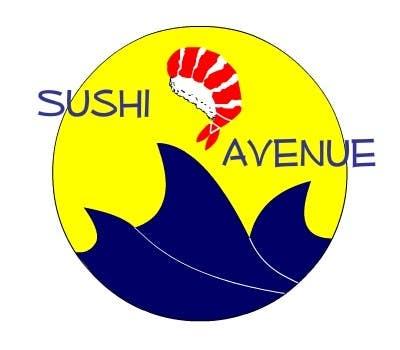 Penyertaan Peraduan #17 untuk Design a Logo for SUSHI AVENUE