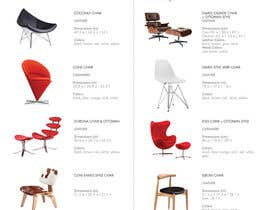 #2 untuk Design a Brochure for a modern furniture website oleh dyymonn