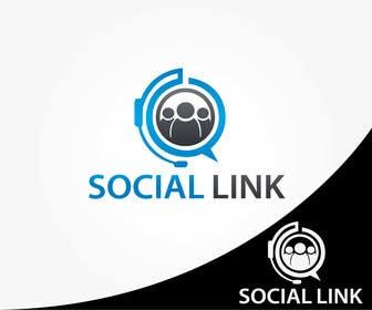 Nro 15 kilpailuun Design a Logo for Social Link käyttäjältä alikarovaliya