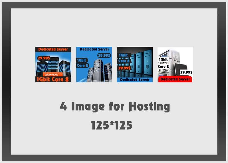 Penyertaan Peraduan #23 untuk Design a 125x125 Pixel Image for Hosting Company