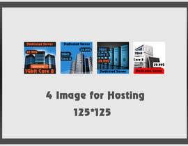 Nro 23 kilpailuun Design a 125x125 Pixel Image for Hosting Company käyttäjältä benhammouanas