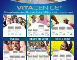 Nro 1 kilpailuun Design a Flyer for a vitamins & supplement product line käyttäjältä SmartArtStudios