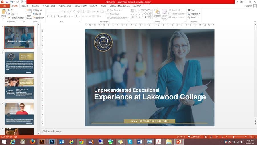 "Bài tham dự cuộc thi #9 cho Design a 16 page  (6""X9"" ) Brochure for a College"