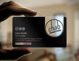 #38 untuk Design some AWESOME Business Cards for Chab Pte Ltd oleh einsanimation