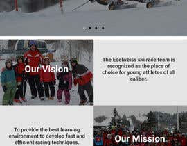 #4 for Website for Ski School Race team by joshuacorby2014