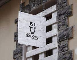 #31 untuk Design a logo for 4Score oleh thunderbrands