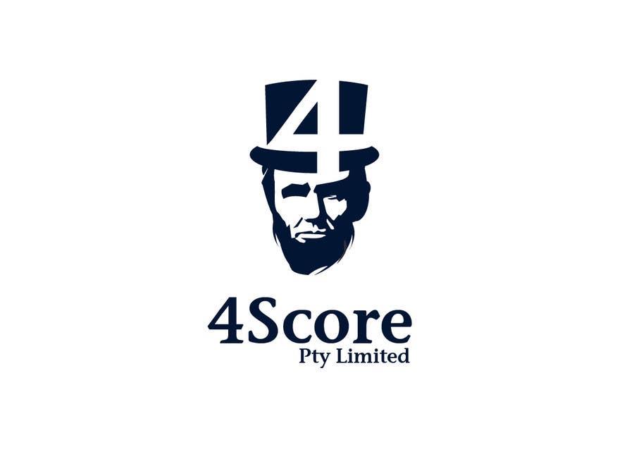 Penyertaan Peraduan #32 untuk Design a logo for 4Score