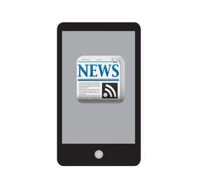 Nro 17 kilpailuun Design a Logo for a newspaper mobile app. käyttäjältä zameerkharal