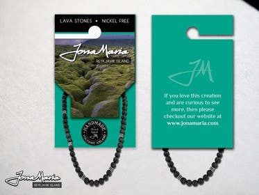 #12 for Create Packaging Designs for handmade lava jewelery af chubbycreations