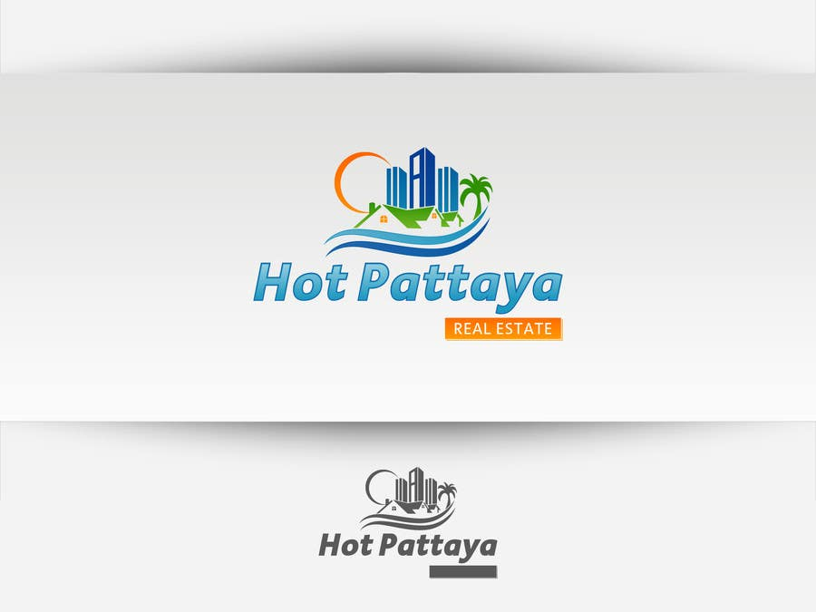 Proposition n°127 du concours Design a Logo for REAL ESTATE company named: HOTPATTAYA