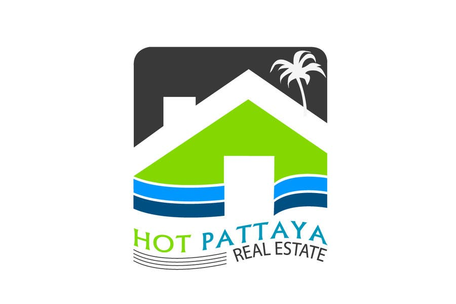 Proposition n°96 du concours Design a Logo for REAL ESTATE company named: HOTPATTAYA