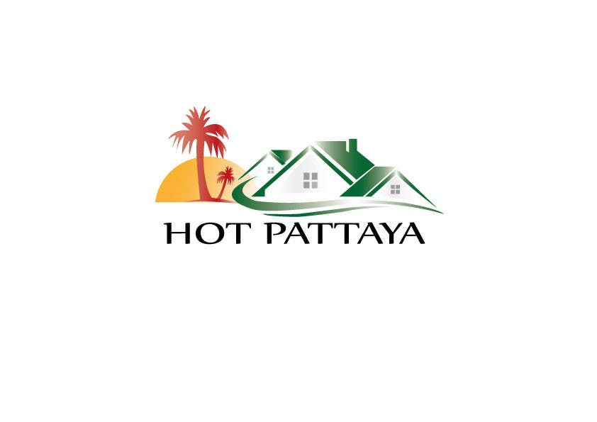 Proposition n°132 du concours Design a Logo for REAL ESTATE company named: HOTPATTAYA