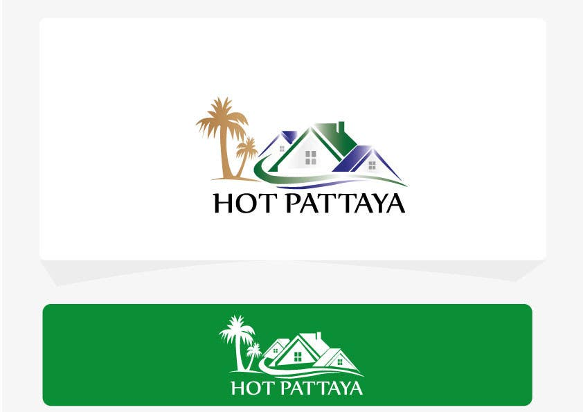 Proposition n°135 du concours Design a Logo for REAL ESTATE company named: HOTPATTAYA
