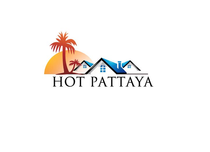 Proposition n°14 du concours Design a Logo for REAL ESTATE company named: HOTPATTAYA