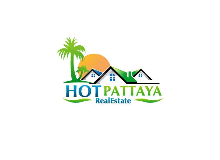 Proposition n°142 du concours Design a Logo for REAL ESTATE company named: HOTPATTAYA
