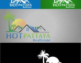 #146 para Design a Logo for REAL ESTATE company named: HOTPATTAYA por thimsbell
