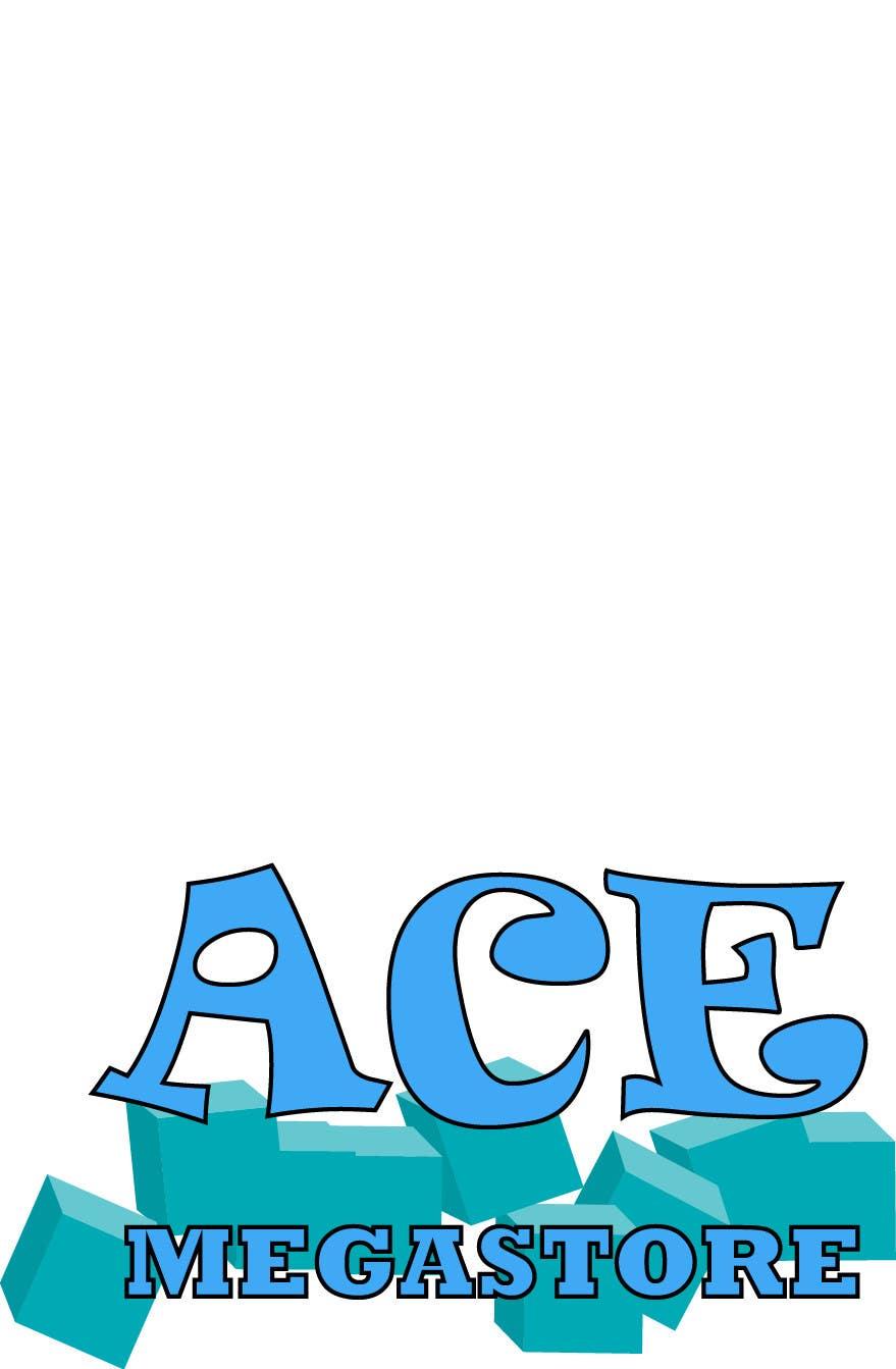 Penyertaan Peraduan #33 untuk Design a Logo for ACE Megastore