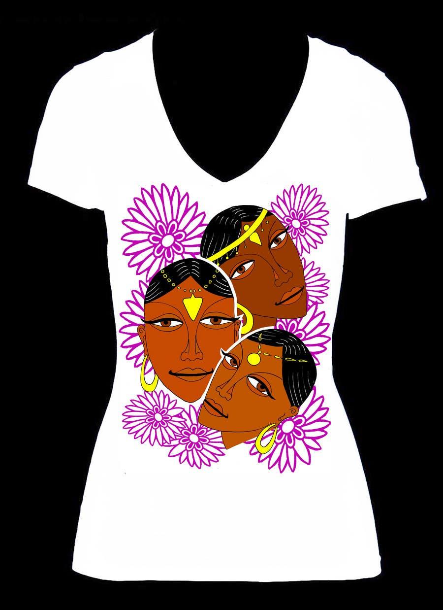 Natečajni vnos #                                        2                                      za                                         Artistic & Original Shirt Design