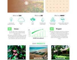 #12 untuk Desert-Greening.com contest! Design our Homepage! oleh pilipenko2001
