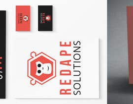 himel302 tarafından Design a Logo + Business Card for Red Ape Solutions! için no 114