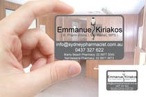 Graphic Design Contest Entry #127 for Business Card Design for retail pharmacist based in Sydney, Australia