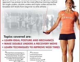 #41 untuk I need an infographic for a jump rope oleh apeterpan52