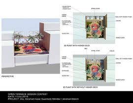 #47 for Open terrace design by Abraham3darch
