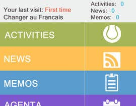 nº 4 pour Enhance a design for a school mobile app par Thanosfotn