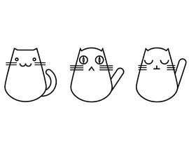 #7 untuk Design 3 Cat Icons oleh ViKolupaeva