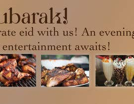 #7 untuk Design an Advertisement for Eid Greetings to our guests oleh aefess