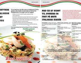 nº 25 pour Take away menu for italian restaurant par xpressro