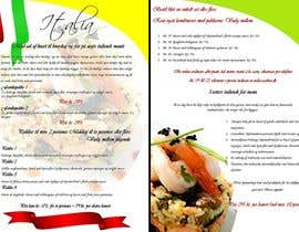 #13 untuk Take away menu for italian restaurant oleh penanpaper